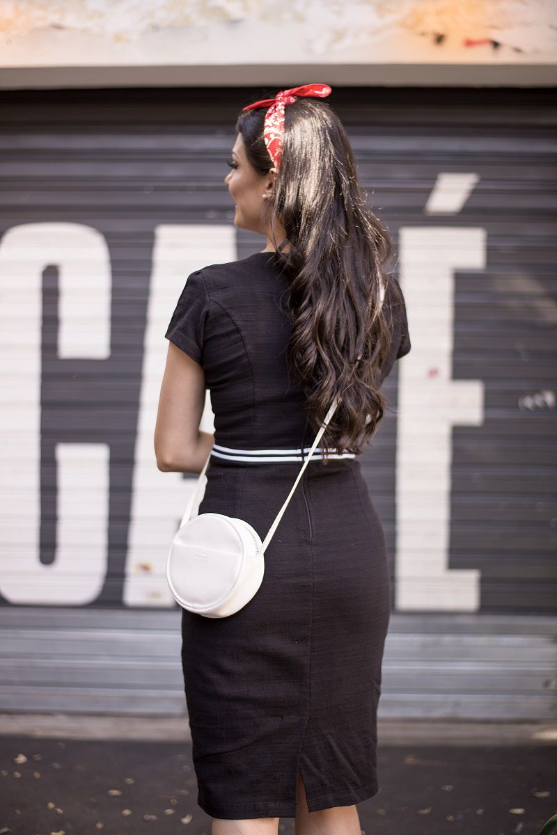 Vestido Linho com Forro Luciana Pais Moda Evangélica 92243