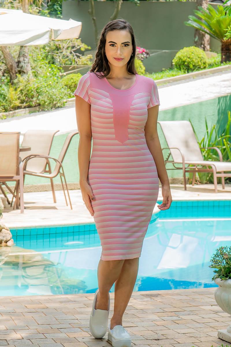 Vestido Luciana Pais Malha Crepe 92962