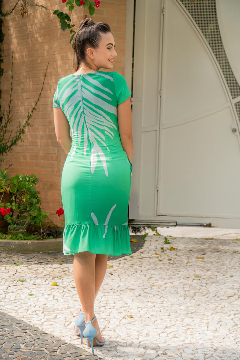 Vestido Luciana Pais Viscose 92969