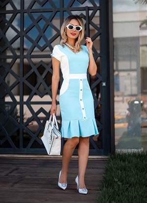 Vestido Massalate Monia Moda Evangélica 85151