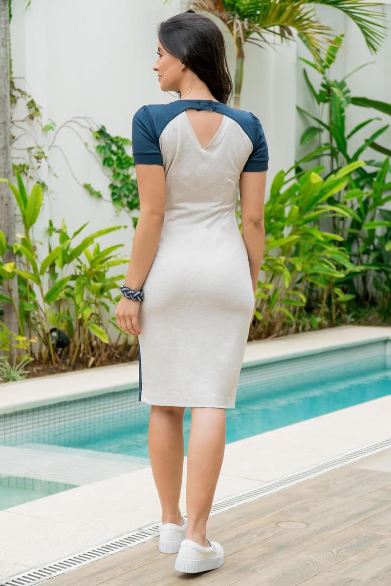 Vestido Moletom Mescla Luciana Pais 92864