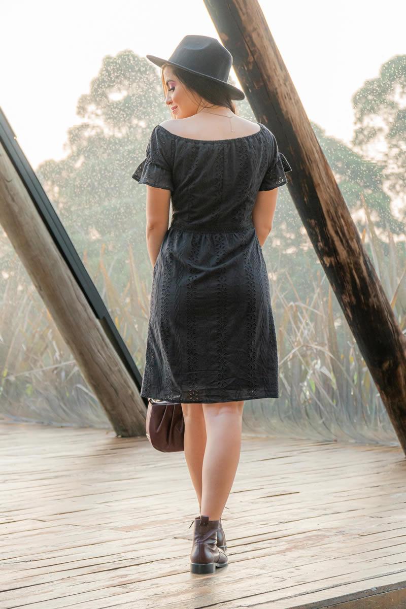 Vestido Ombro a Ombro Laise Luciana Pais 93015