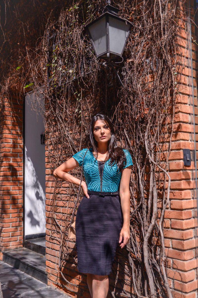 Vestido Tubinho com Forro LP 92264