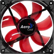 Cooler Fan 12cm Pc Gamer Red LED Vermelho Aerocool