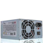 Fonte Atx Pc 350w Reais Com Cabo De Energia Bivolt Knup  KP-526