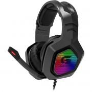 Headset Gamer Led RGB Black Hawk Preto Fortrek G