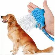 Mangueira Pet Massageadora Banho Animais Cachorro Gato Pet