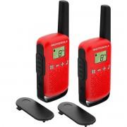 Rádio Comunicador Talkabout 25km T110BR Vermelho Motorola ( Par )