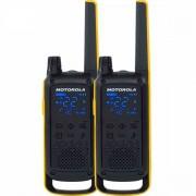 Rádio Comunicador Talkabout 35km T470BR Amarelo/Preto Motorola ( Par )