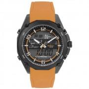 Relógio Condor Masculino Digital Pulseia Silicone Laranja COY121E6AE/2P