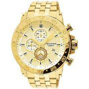 Relógio Technos Legacy Masculino Cronógrafo Data Dourado JS15AO/4X