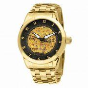 Relógio Technos Masculino Classic Automático Dourado 8N24AC/4P