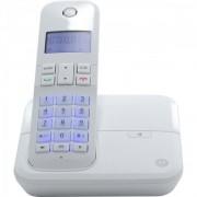 Telefone Motorola Sem Fio Digital Com Id De Chamadas Viva-Voz Branco Moto4000W