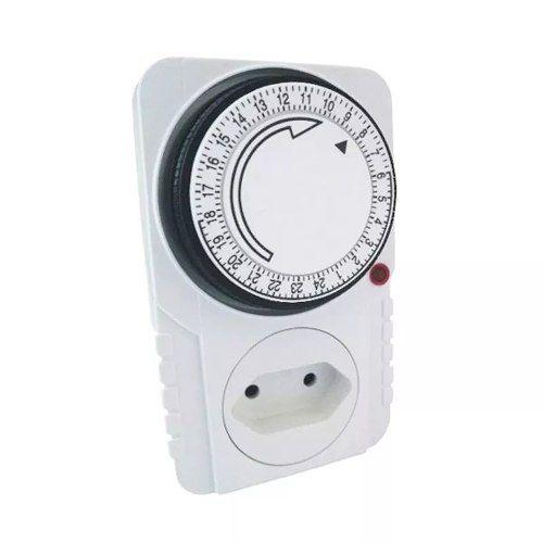 Timer Analogico Temporizador Bivolt 96 Progr. 24 Hrs 2200 W