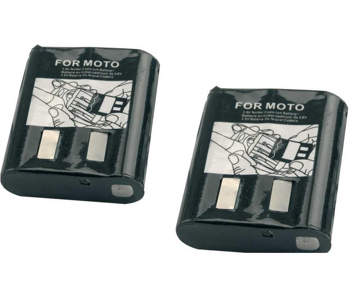 2 Bateria Recarregável Para Rádio TalkAbout 3,6V 600mAh Rontek