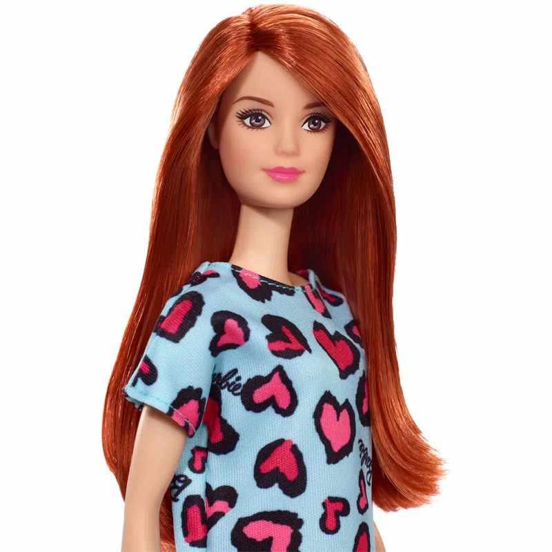 Boneca Barbie Fashion And Beauty Ruiva com Vestido Verde - Mattel GHW48
