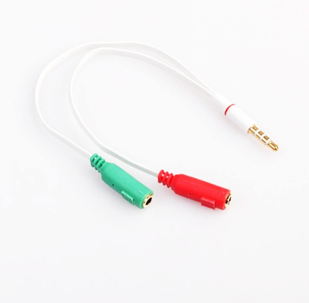 Adaptador P3 para P2 (Fone/Microfone)