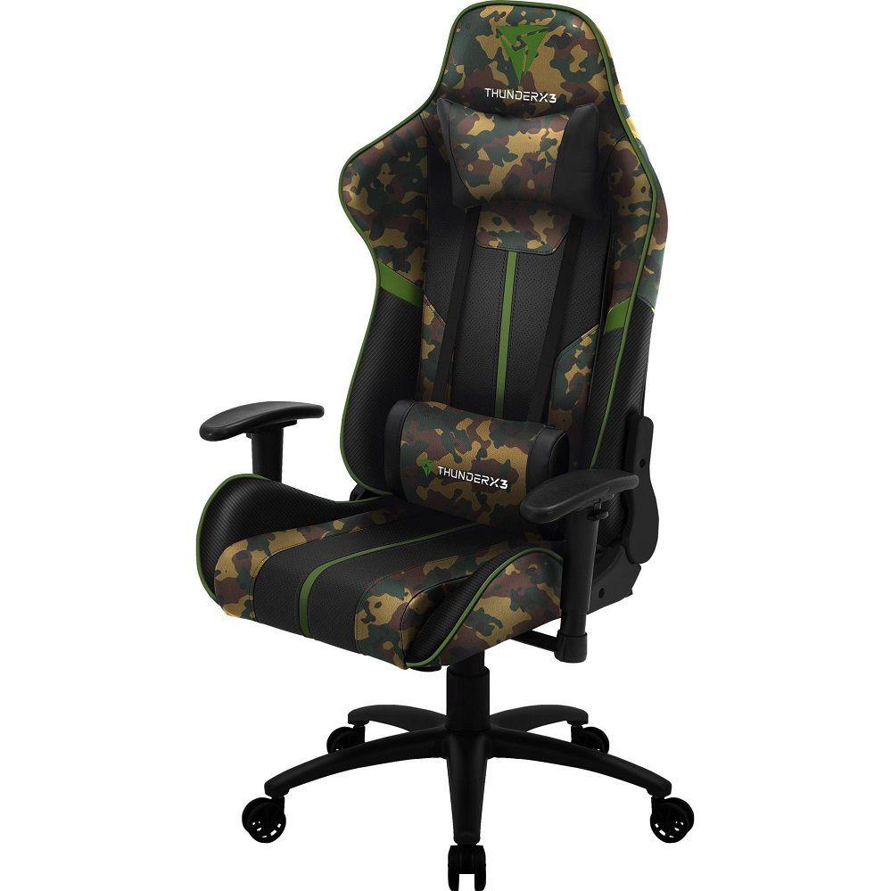 Cadeira Gamer Reclinável Thunderx3 Bc3 Military