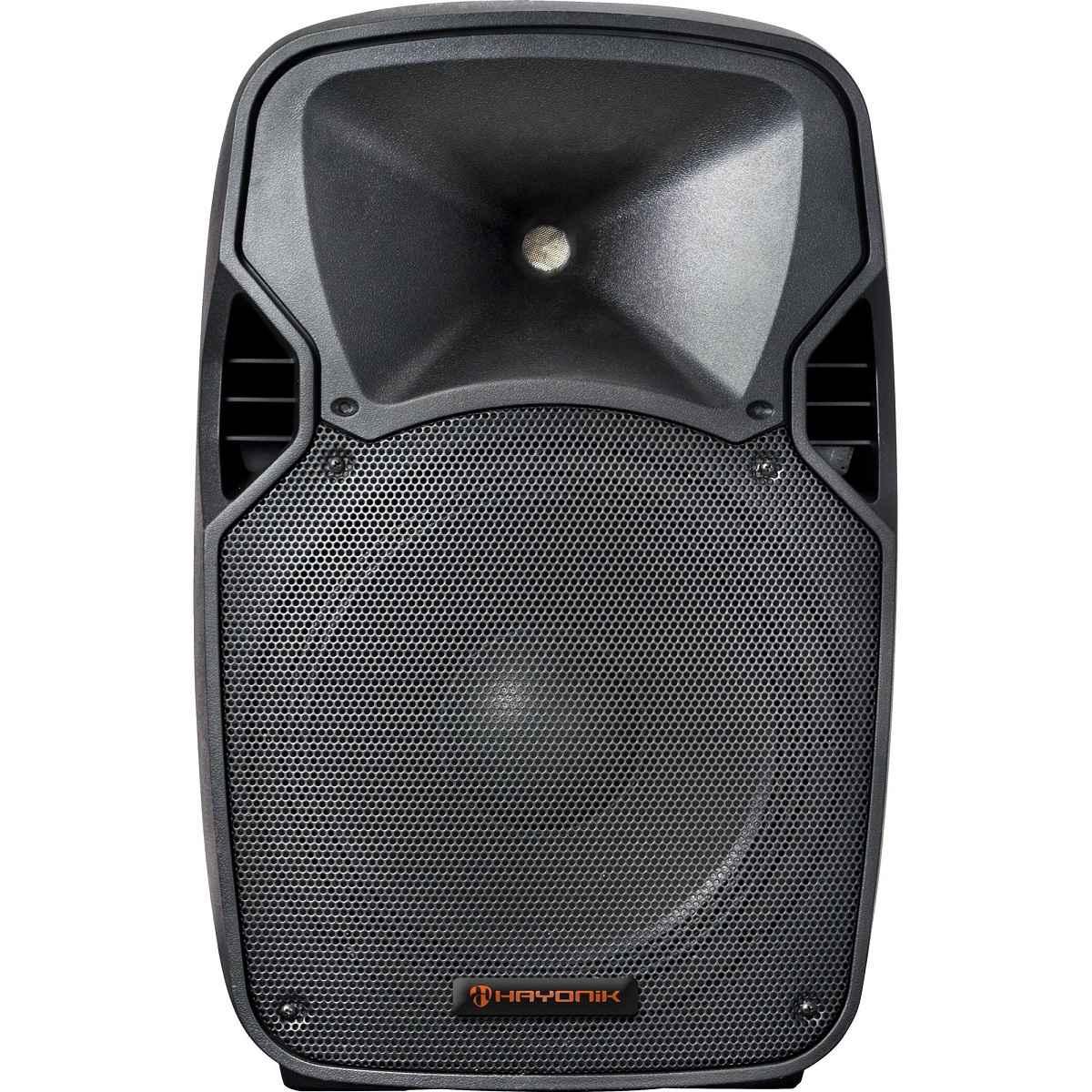 Caixa Acústica Ativa 600W Bluetooth CPA 15600L HAYONIK Bivolt