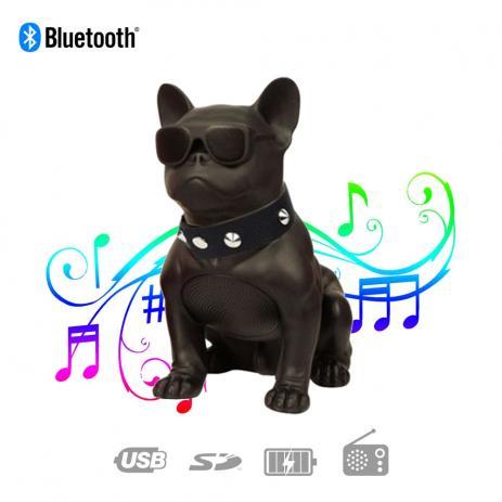 Caixa De Som Portátil Bluetooth Bulldog Fm Sd Pen Drive 8W