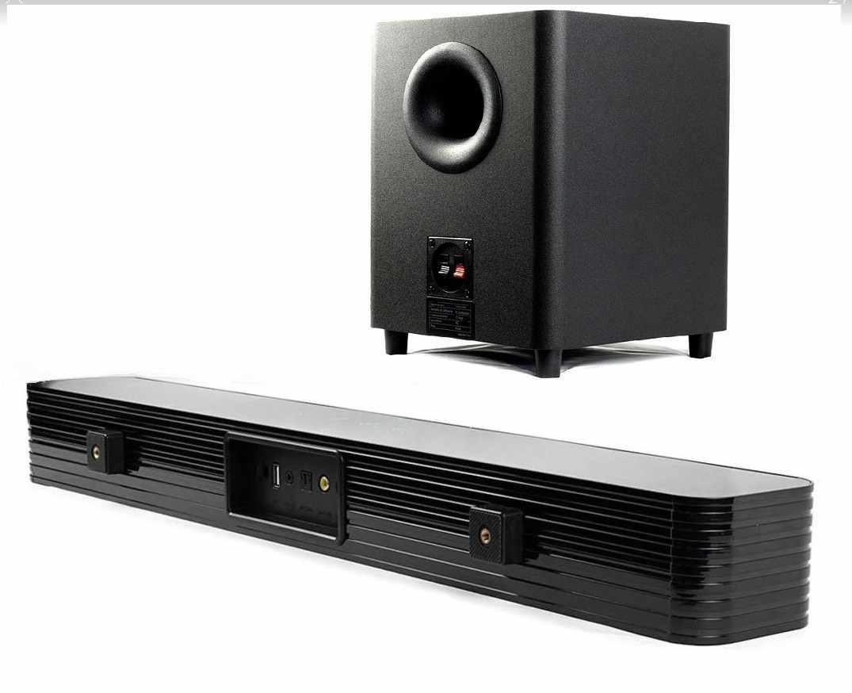Caixa De Som Soundbar Tomate 150w Tv Subwoofer Bluetooth Áudio Óptico Usb Mts-2023