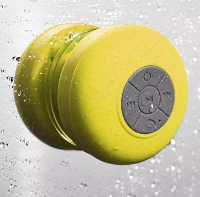 Caixa De Som Banheiro Prova D'água Bluetooth Android e iOS