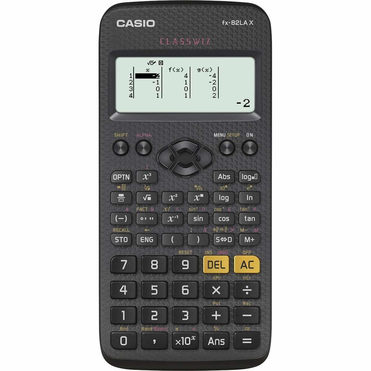 Calculadora Científica 275 Funções FX-82LAX Preta Casio