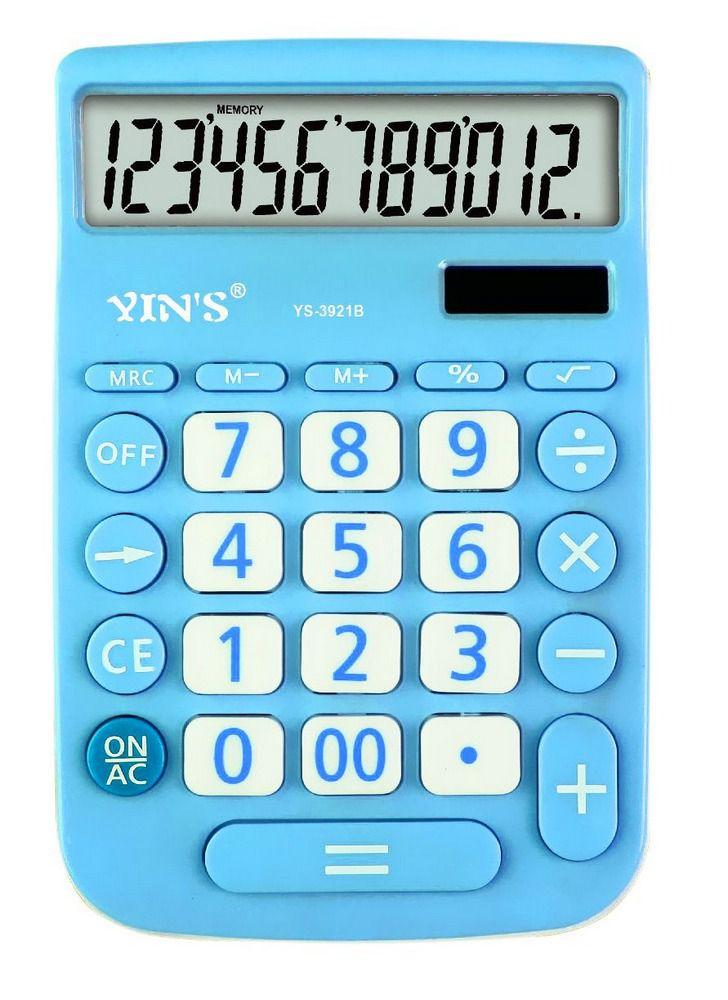 Calculadora De Mesa 12 Dígitos Yins