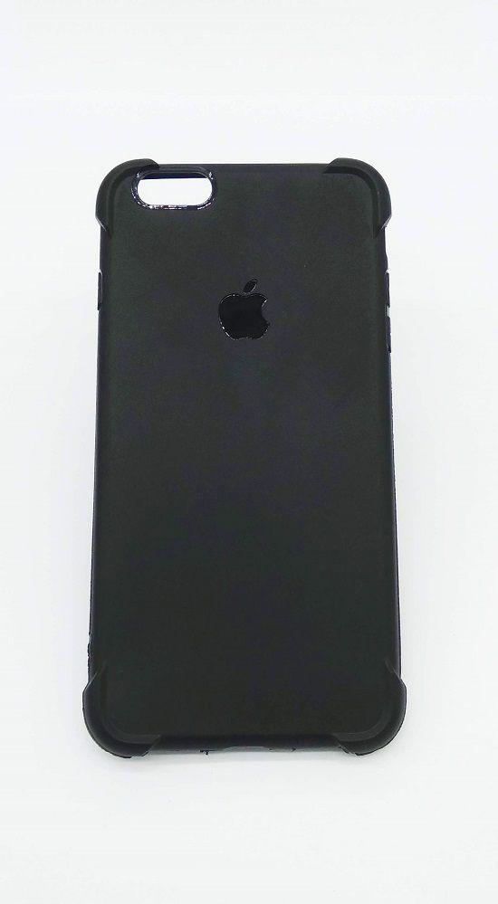 Capa Para Iphone 6 Plus Tpu Ultra Fina Preta Fosca