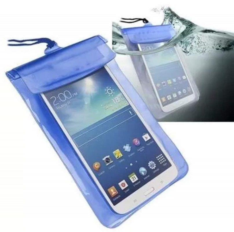 Capa Saquinho Bolsa Para Celular A Prova D'água Com Cordinha Universal