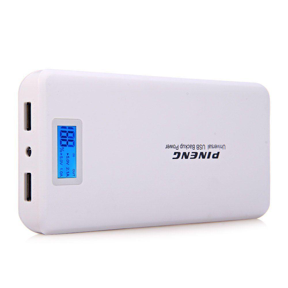 Carregador Portátil Power Bank Pineng 20000mah Pn-999