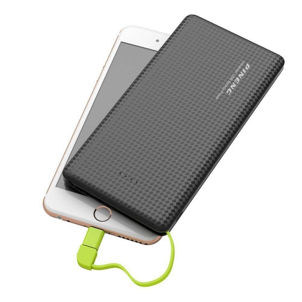 Carregador Portátil Slim 10000mah Power bank Pineng Pn-951