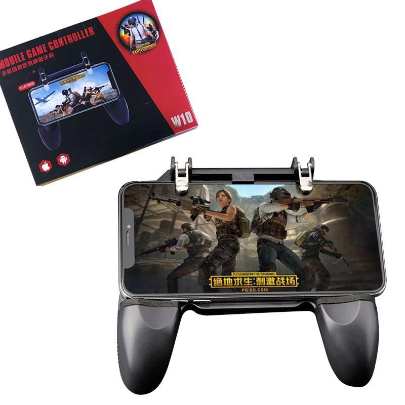 Controle Para Celular Gamepad Joystick Free Fire Gatilho Tiro W10