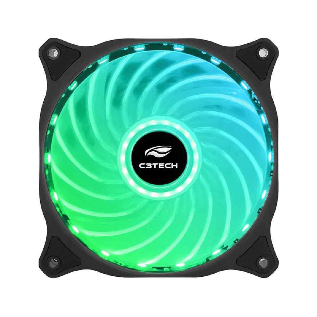 Cooler Fan 12cm RGB 18 LED Storm F9-L150RGB C3TECH