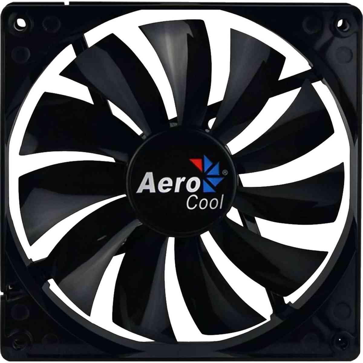 Cooler Fan 14cm Para Pc Gamer Dark Force Preto Aerocool