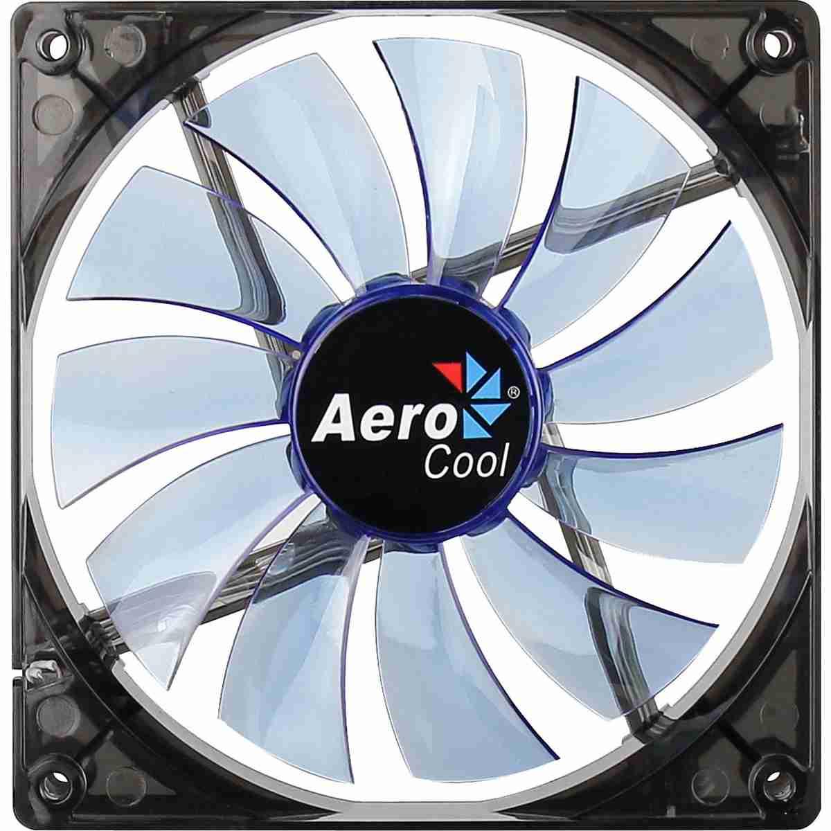 Cooler Fan 14cm Pc Gamer Blue LED Azul Aerocool