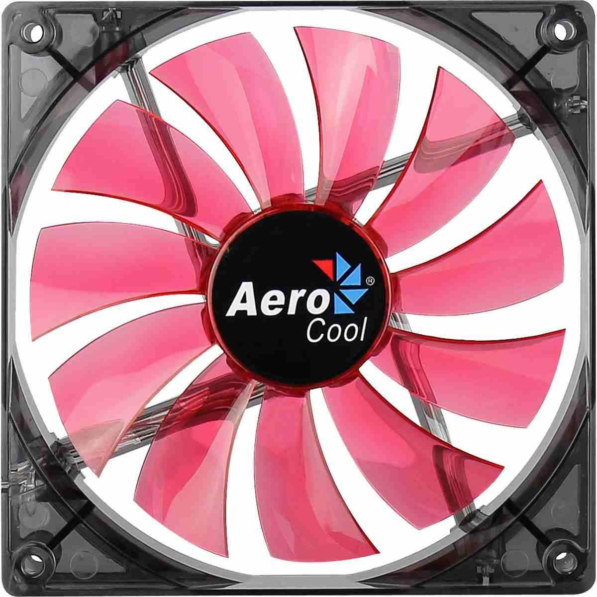 Cooler Fan 14cm Pc Gamer Red LED Vermelho Aerocool