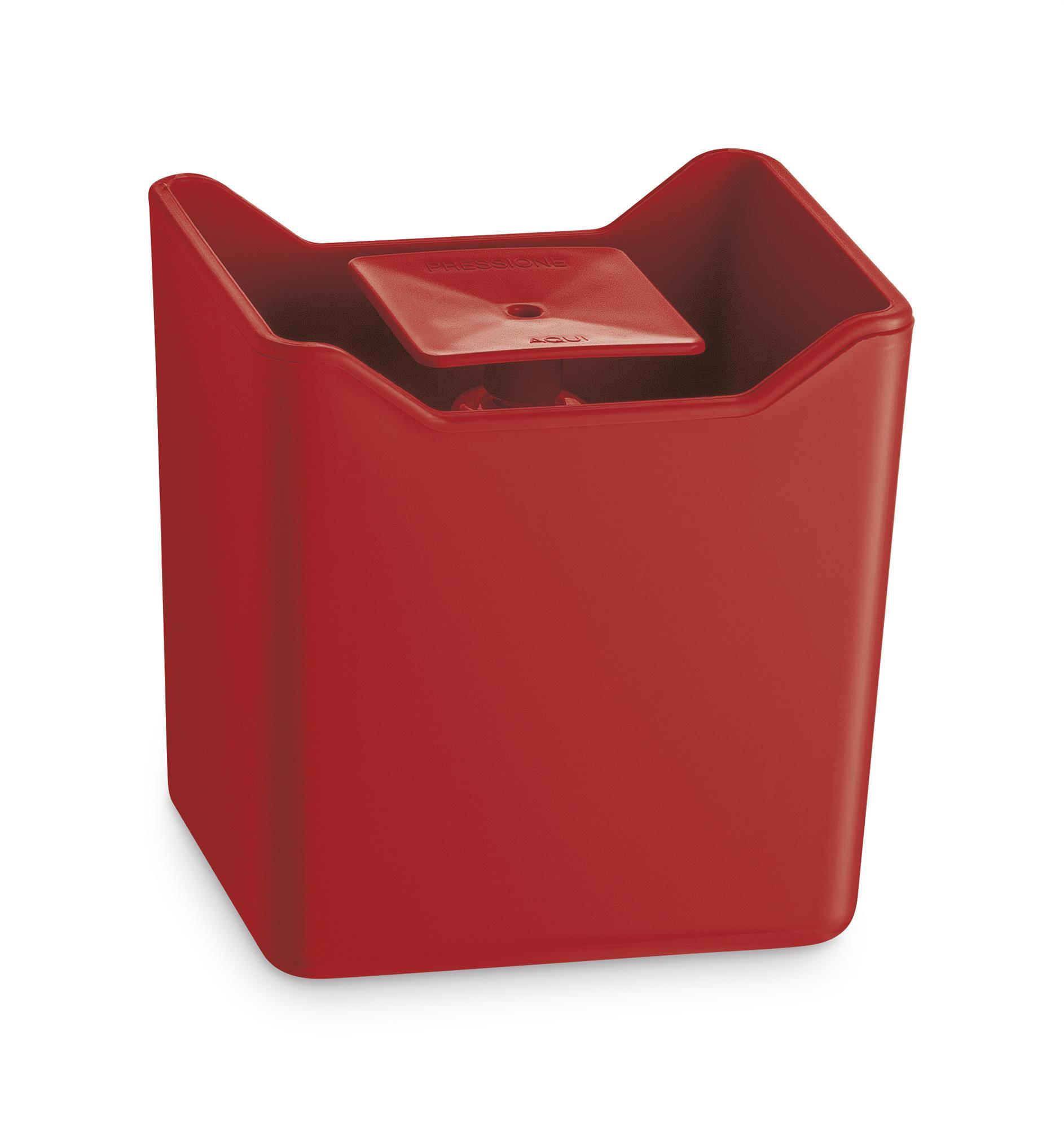 Dispenser Detergente Econômico 500ml Premium Vermelho Uz