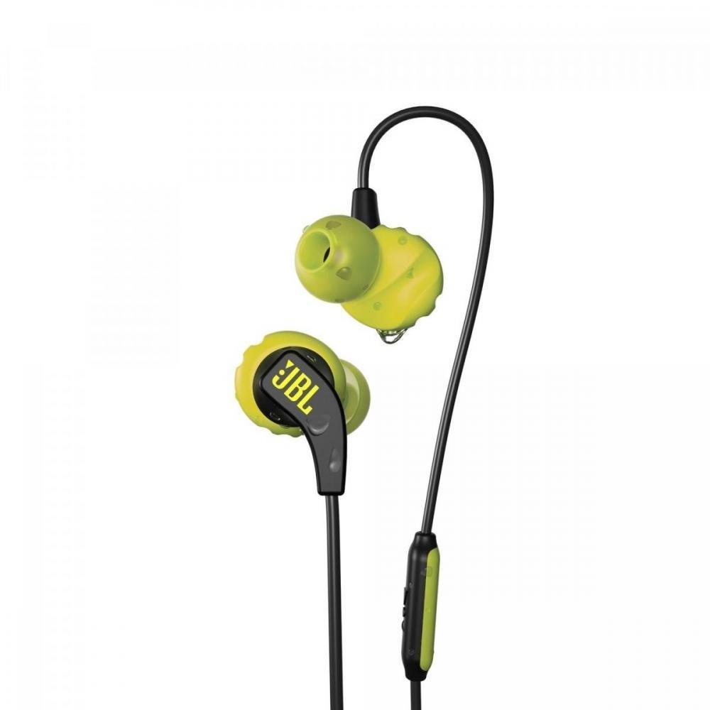 Fone de Ouvido C/Microfone Endurance Run Preto/Amarelo JBL