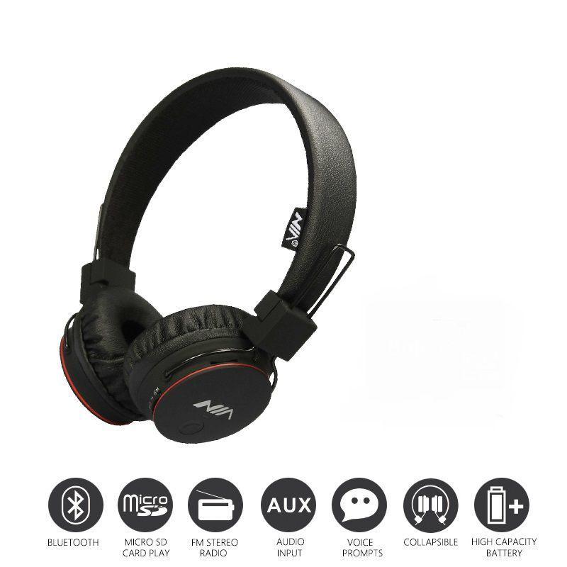 Fone De Ouvido Sem Fio Bluetooth Sports Sd Nia-X2
