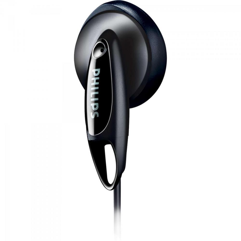 Fone de Ouvido Tradicional Estéreo SHE1350/00 Preto Philips