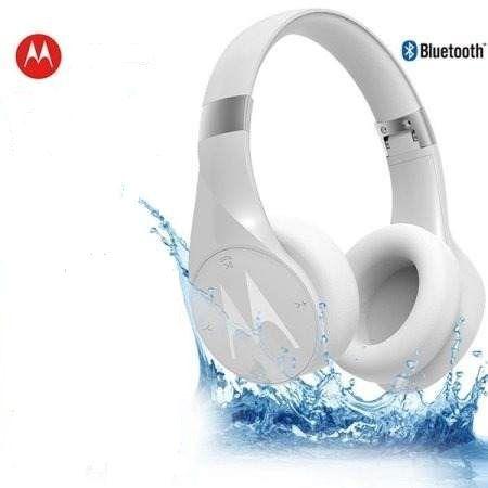 Fone Motorola Pulse Escape+ Sh013 Bluetooth Resistente a água Ip54 Branco