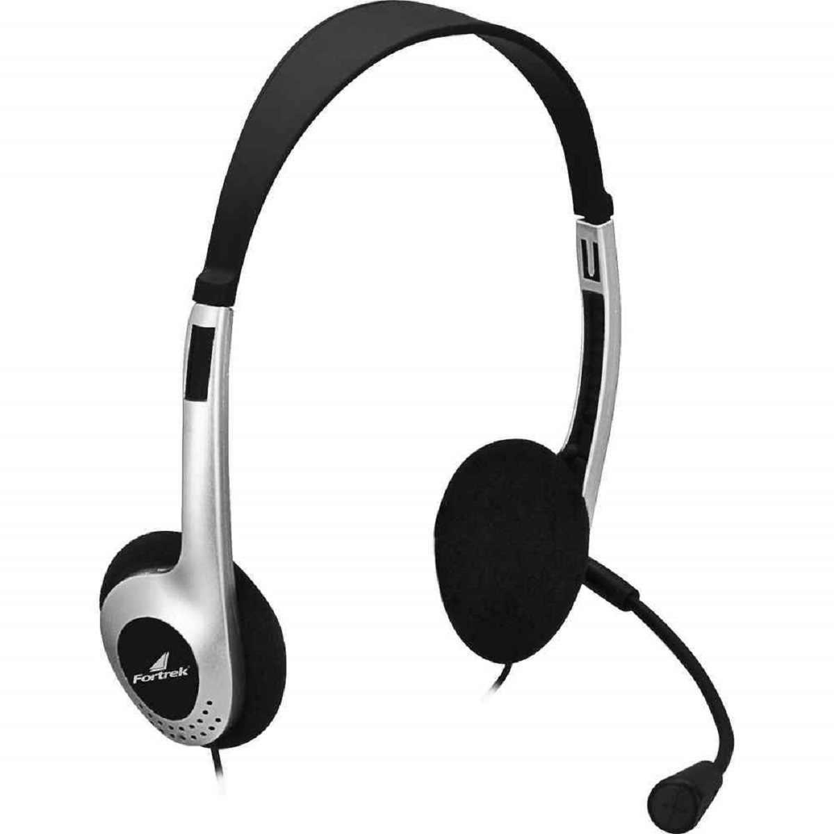 Fone Multimidia C/ Microfone HBL-101 Fortrek Ideal p/ Pc - Notebook