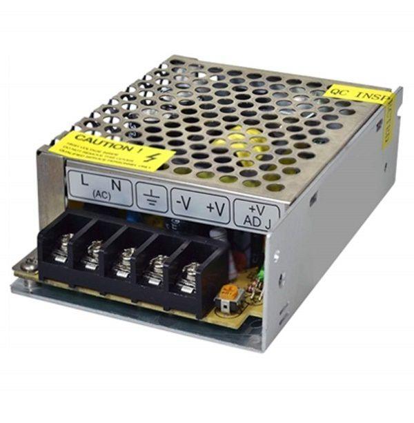 Fonte Chaveada 5A 60W 12V P/ Fita de LED Som Automotivo CFTV