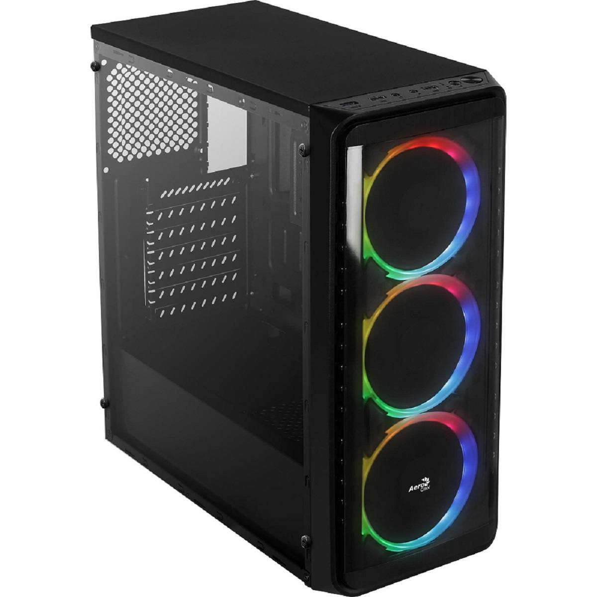 Gabinete Gamer ATX SI-5200 RGB Window Aerocool