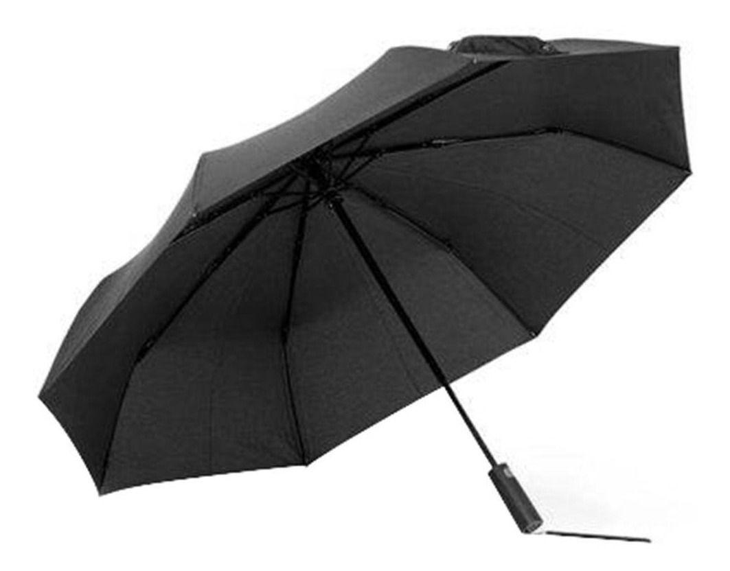 Guarda Chuva Xiaomi Mijia Automático Umbrella Abre E Fecha Zds01xm Preto Impermeável