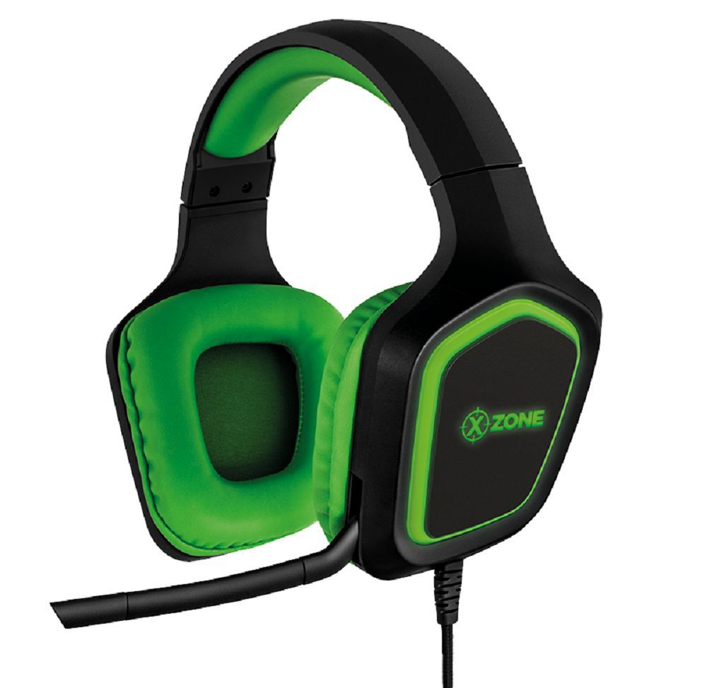 Headset Fone Gamer Led Rgb Com Suporte Xzone GHS-02