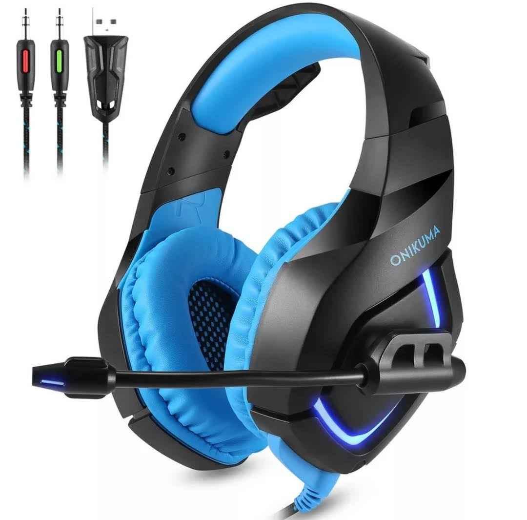 Headset Gamer Fone Profissional Compatível C/Celular Ps4 Xbox Onikuma K1