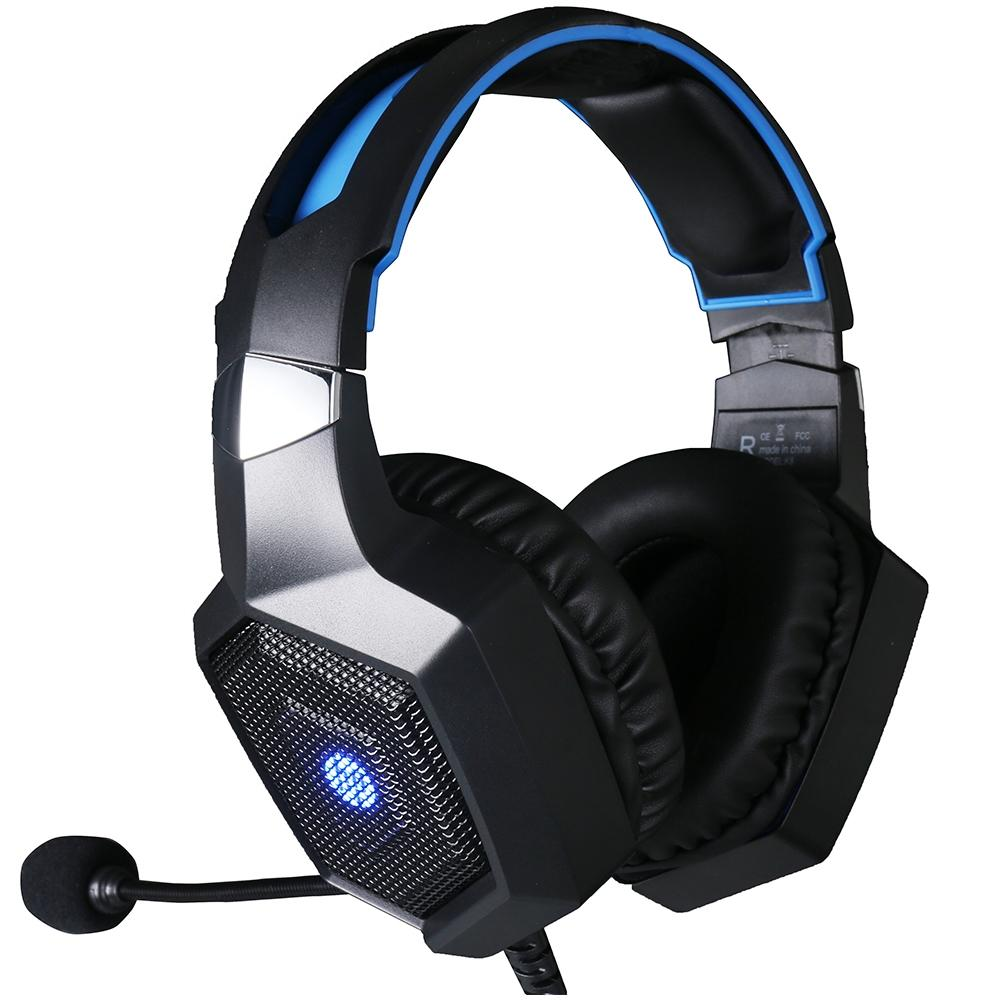 Headset Gamer Hp H320GS Led 7.1 Surround Drivers 50mm
