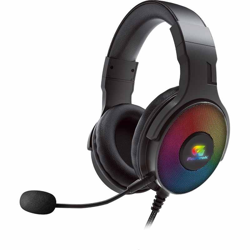 Headset Gamer Led RGB Cruiser 7.1 Usb Preto Fortrek G